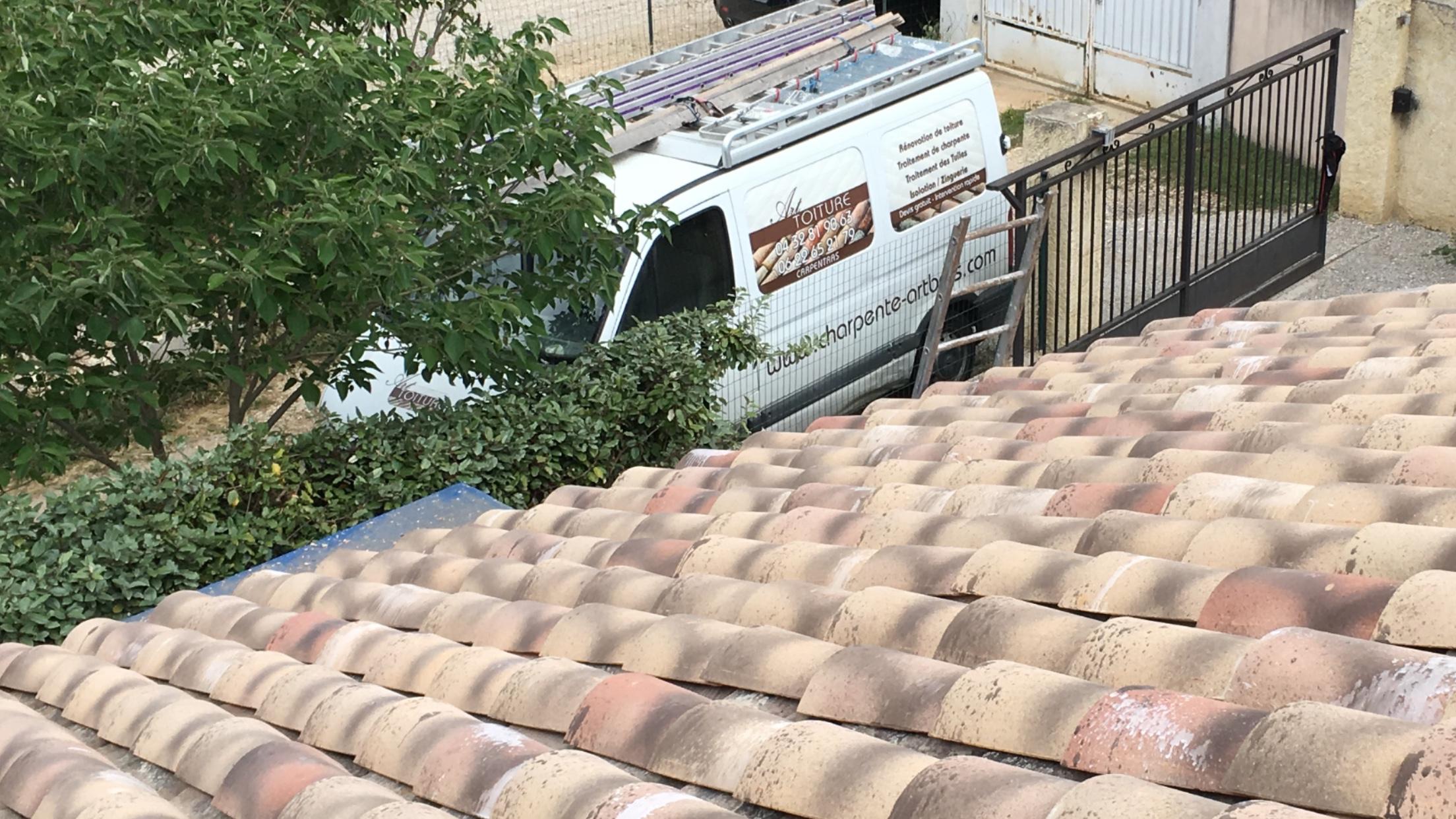 Remaniement de toiture provençale à Saint Didier 84 Avignon (84) Alès (Gard)
