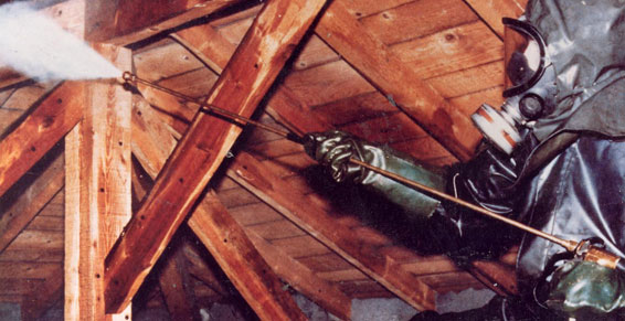 Traitement de charpente dans les bouches du rh ne for Traitement des bois par injection